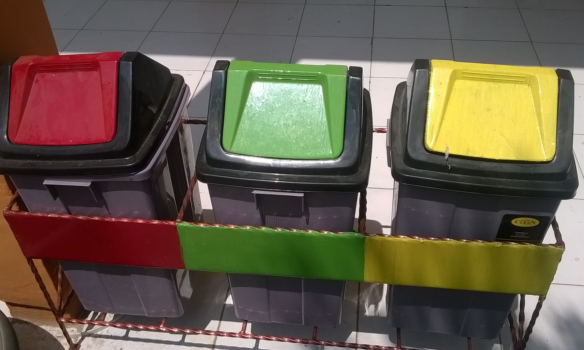 Arti Tempat Sampah Tiga Warna Smp Negeri 1 Gabuswetan